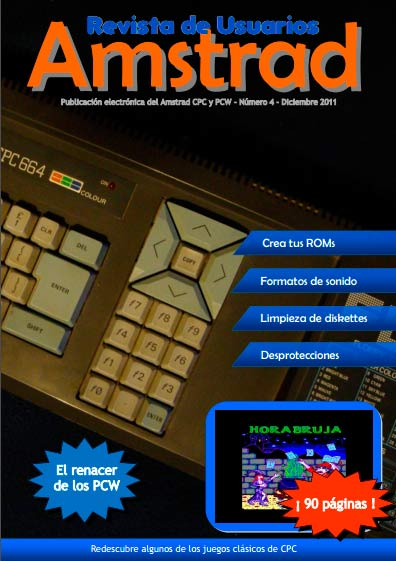Revista de Usuarios Amstrad #4