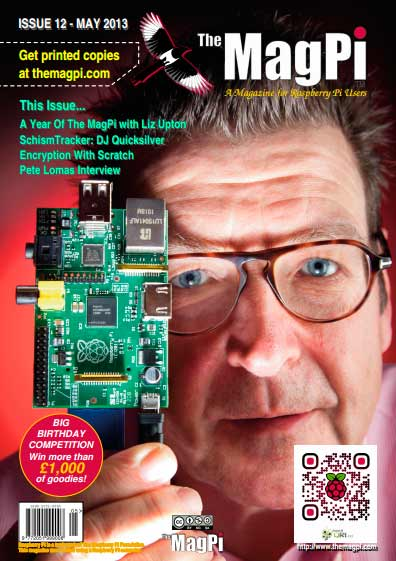 The MagPi #12