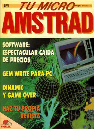 Tu Micro Amstrad #12