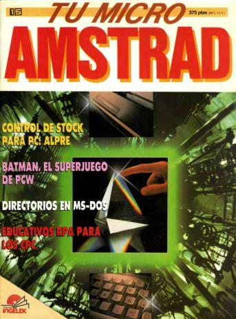 Tu Micro Amstrad #15