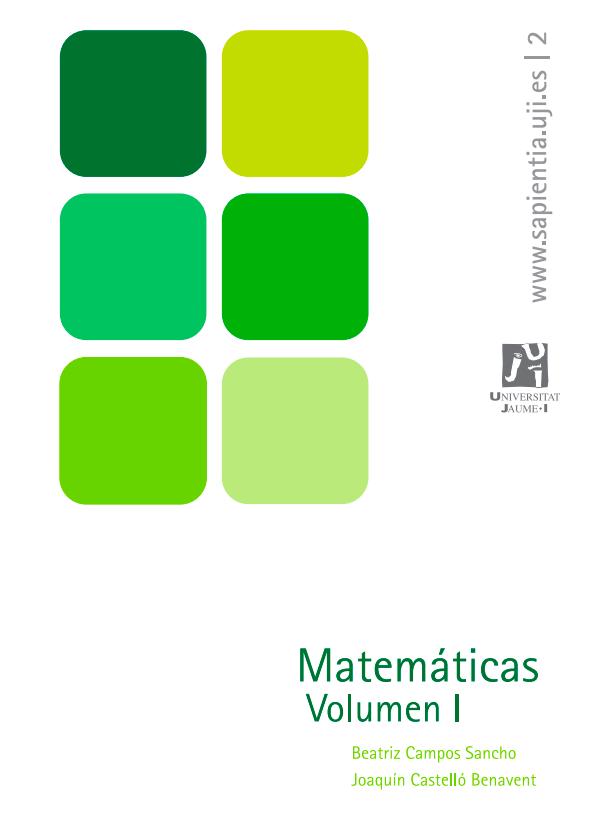 Matemáticas Vol. 1