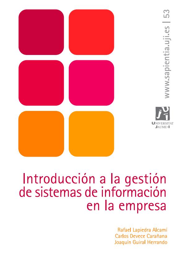 Introducción a la gestión de sistemas de información en la empresa