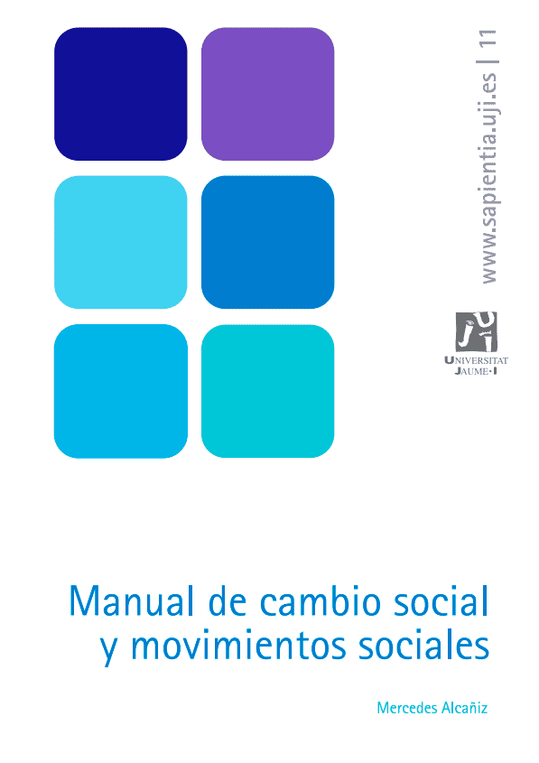Manual de Cambio Social y Movimientos Sociales