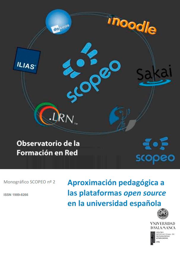 SCOPEO #2: Aproximación pedagógica a las plataformas Open Source en la universidad española