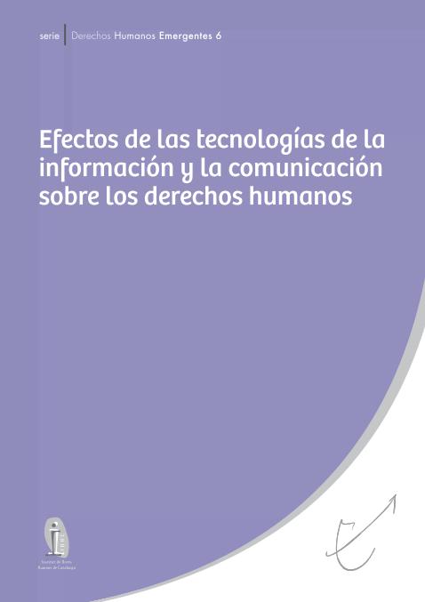 Efectos de las TICs sobre los Derechos Humanos