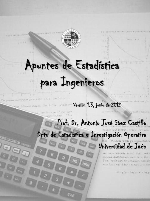 Apuntes de Estadística para Ingenieros