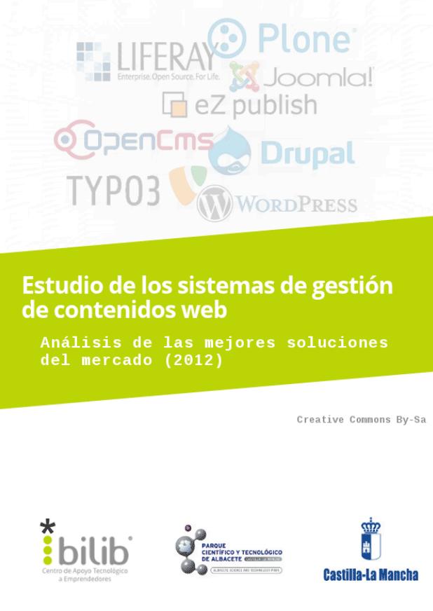 Estudio de los sistemas de gestión de contenidos web (2012)