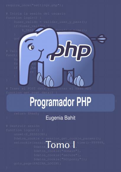 Programador PHP. Tomo 1
