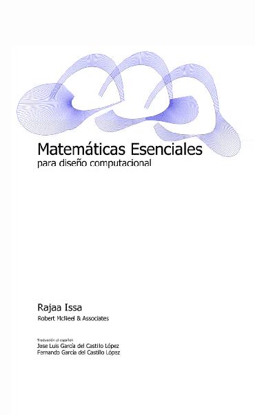 Matemáticas Esenciales para diseño computacional