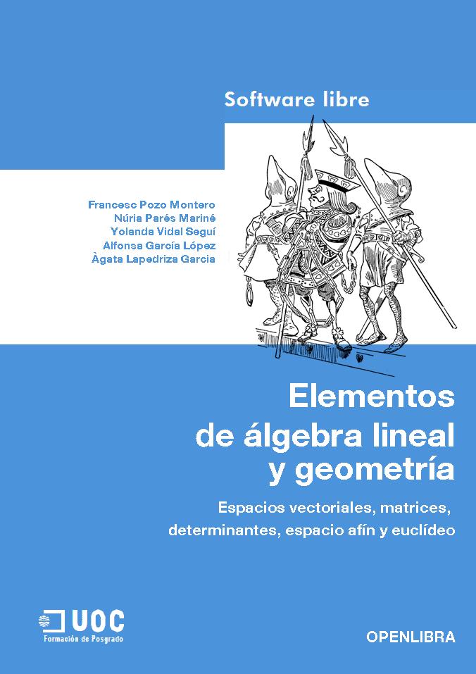 Elementos  de álgebra lineal  y geometría