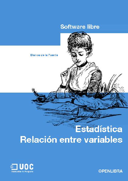 Estadística: relación entre  variables