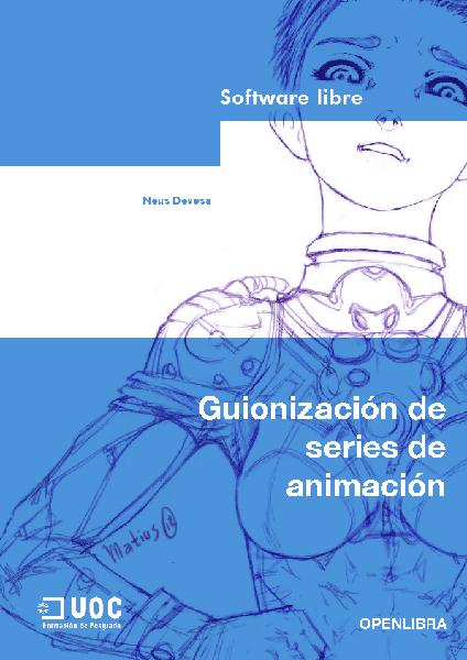 Guionización de series de animación