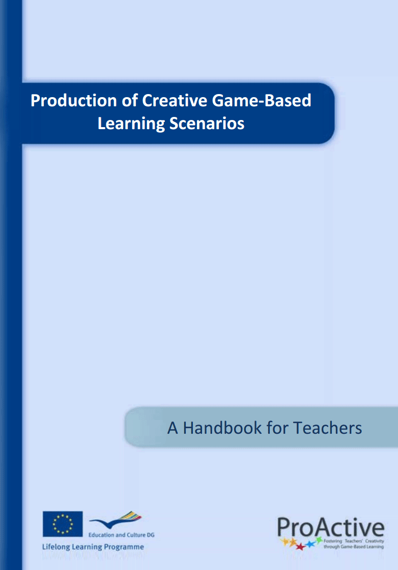 Production of Creative Game-Based Learning Scenarios