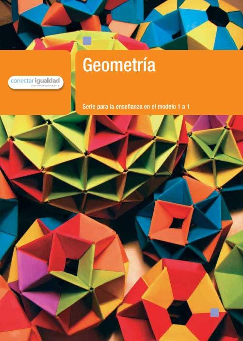 Geometría. Serie para la enseñanza en el modelo 1 a 1