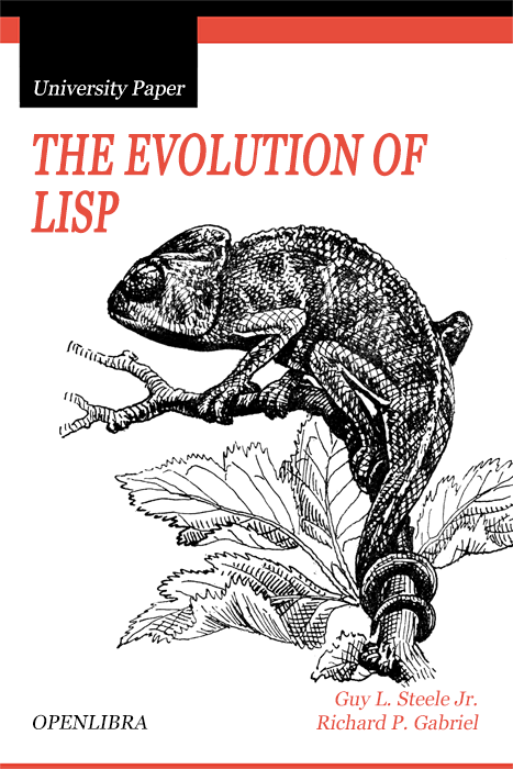 The Evolution of Lisp