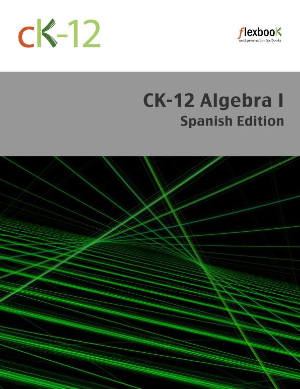 Algebra I: Spanish Edition