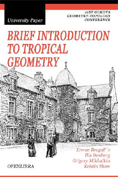 Brief introduction to tropical geometry