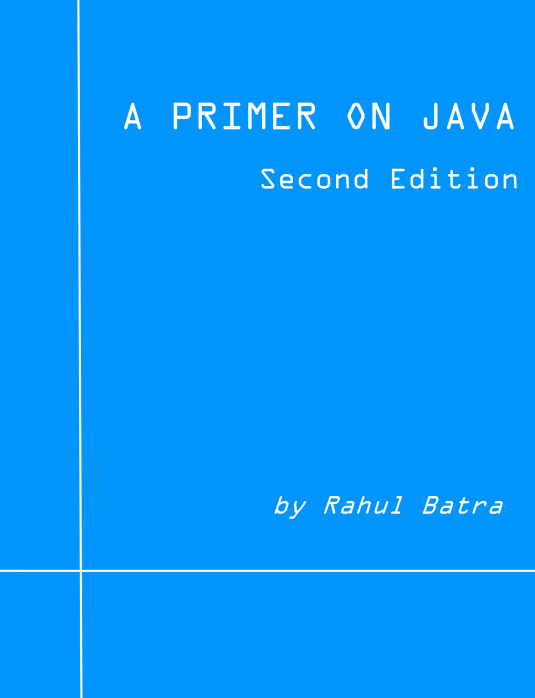 A Primer on Java (2nd Edition)