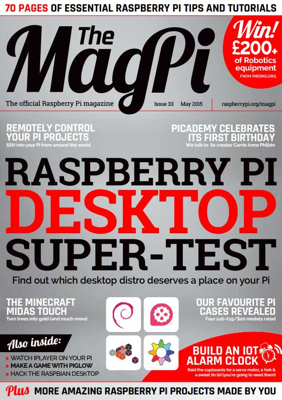 The MagPi #33