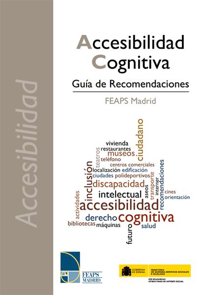 Accesibilidad Cognitiva: Guía de Recomendaciones