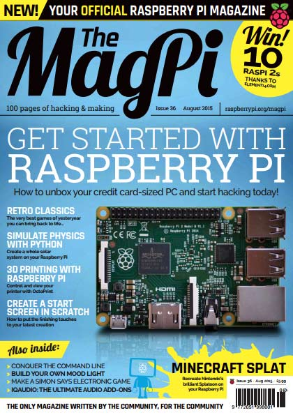 The MagPi #36