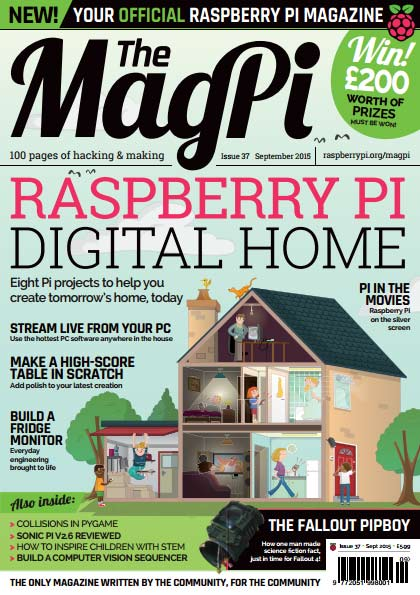The MagPi #37