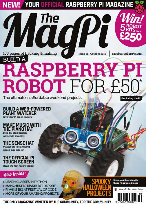 The MagPi #38