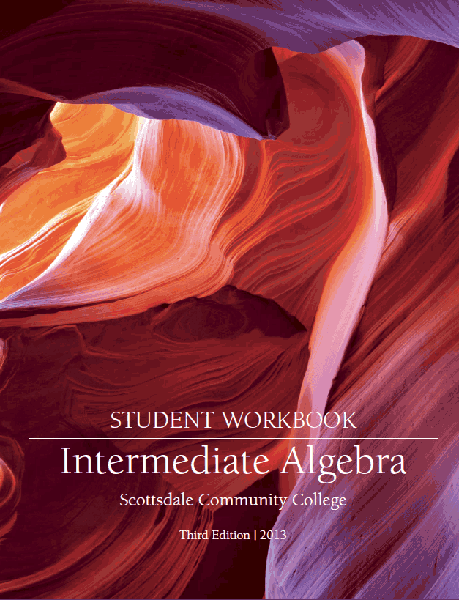 Intermediate Algebra Student Workbook