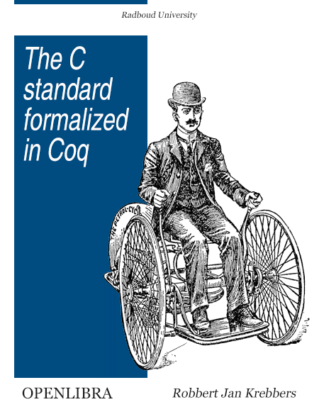 The C standard formalized in Coq