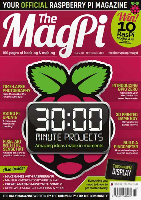 The MagPi #39
