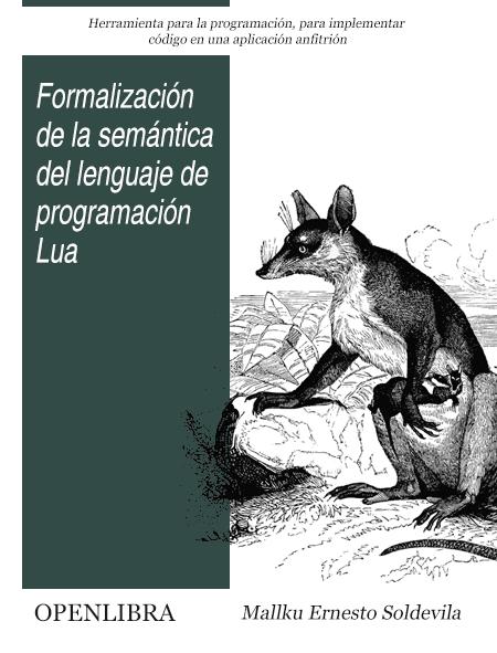 Formalización de la semántica del lenguaje de programación Lua