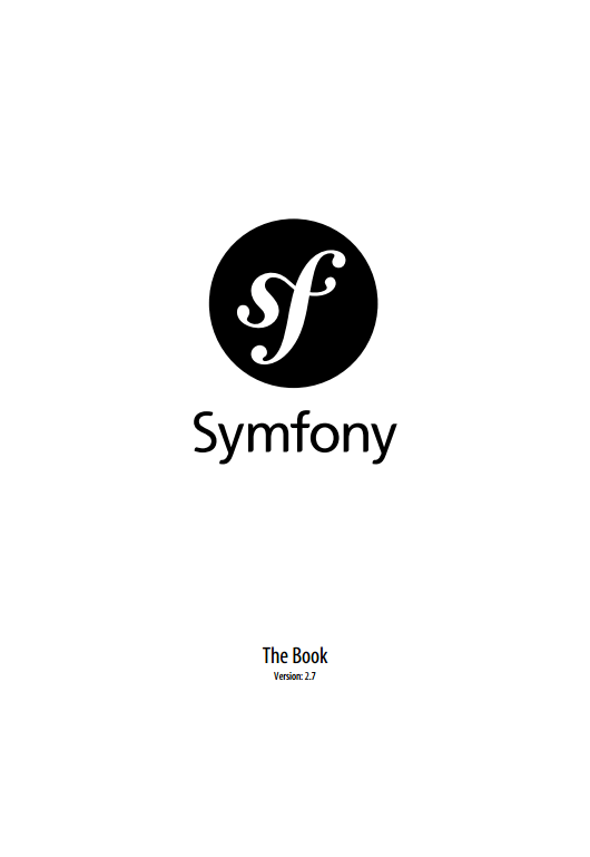 Symfony, the Book. Ver. 2.7