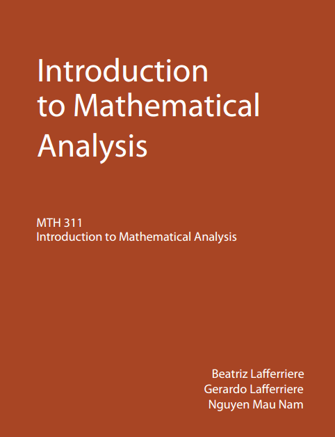 Introduction to Mathematical Analysis