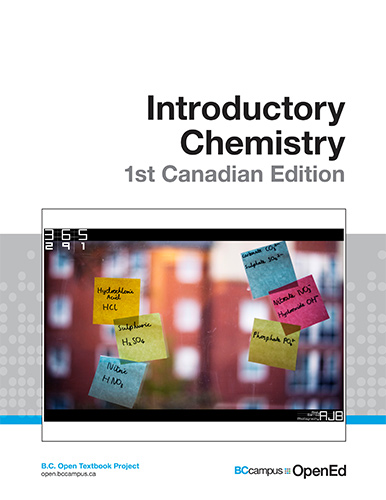 Introductory Chemistry - 1st Canadian Edition