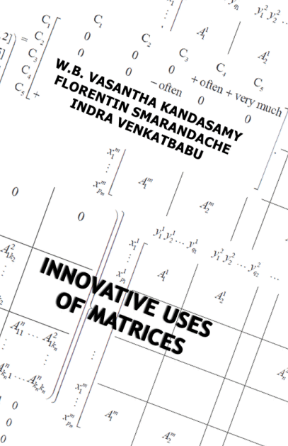 Innovative Uses of Matrices