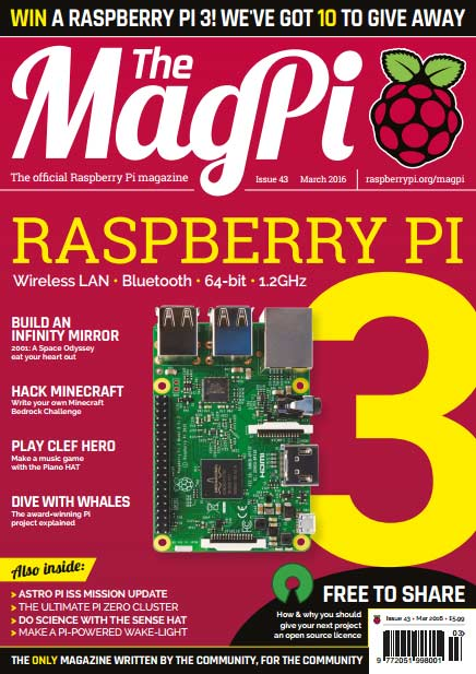 The MagPi #43