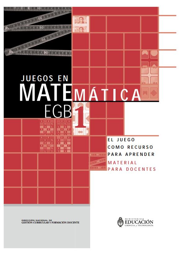 Juegos en Matemática 1