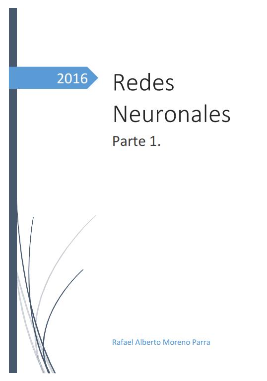 Redes Neuronales. Parte 1