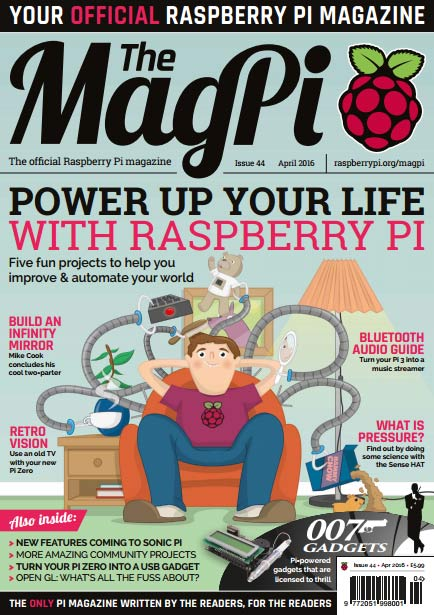 The MagPi #44