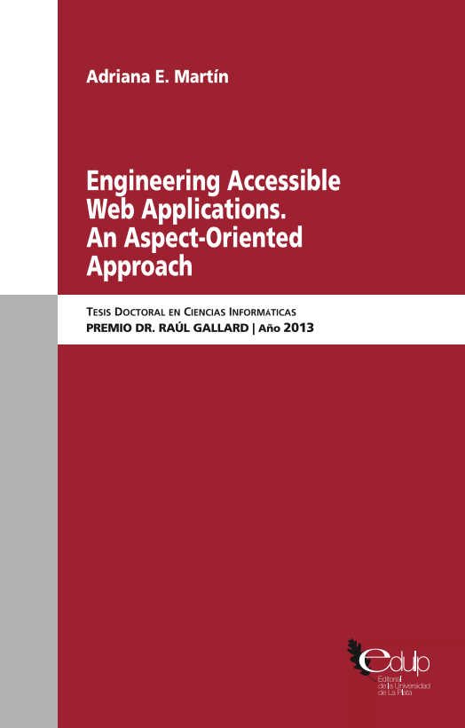 Engineering Accessible Web Applications. An Aspect-Oriented Approach