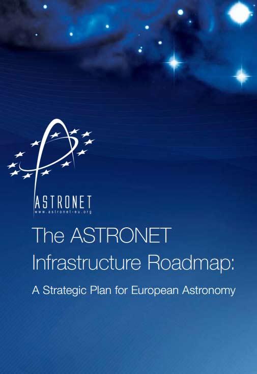 The ASTRONET Infrastructure Roadmap