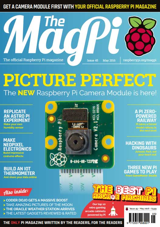 The MagPi #45