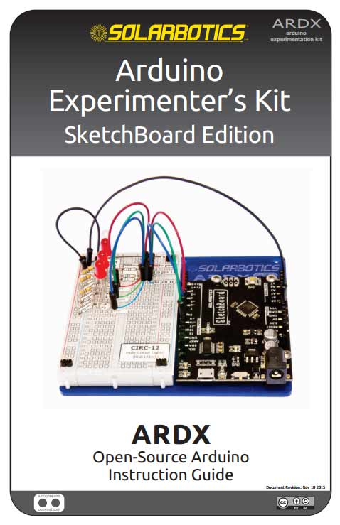 Arduino Experimenter's Kit SketchBoard Edition