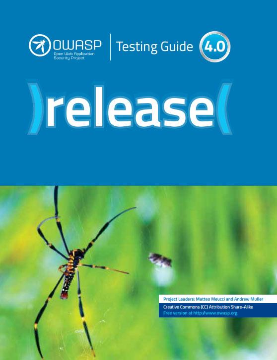 OWASP, Testing Guide 4.0