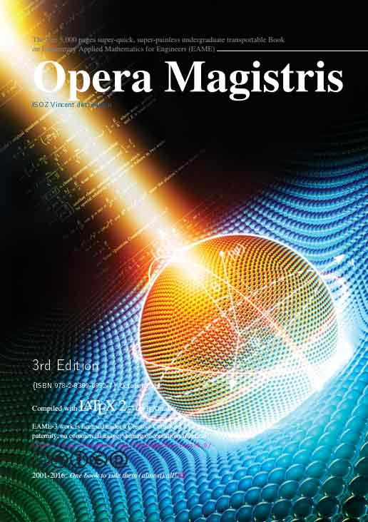Opera Magistris. Compendium on Elementary Applied Mathematics for Engineers