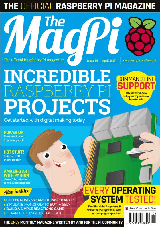 The MagPi #56
