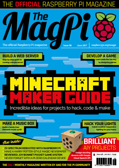 The MagPi #58