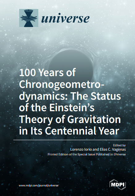 100 Years of Chronogeometrodynamics: The Status of the Einstein's Theory of Gravitation in Its Centennial Year