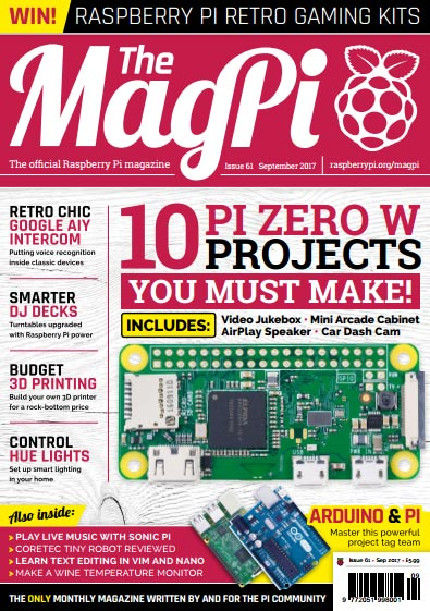 The MagPi #61