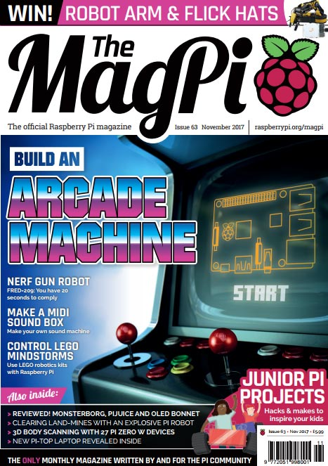 The MagPi #63